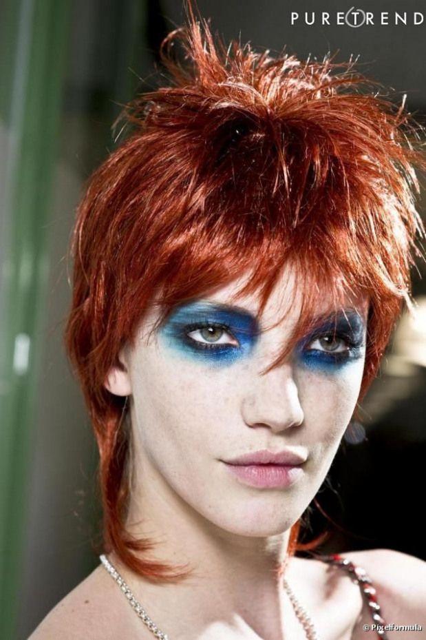 Le Court Version David Bowie Men Sbeauty Men S Beauty Shoot Rock Hairstyles Punk Makeup Glam Rock Makeup