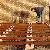 Fundament für Gartenhaus bauen Fundament gartenhaus