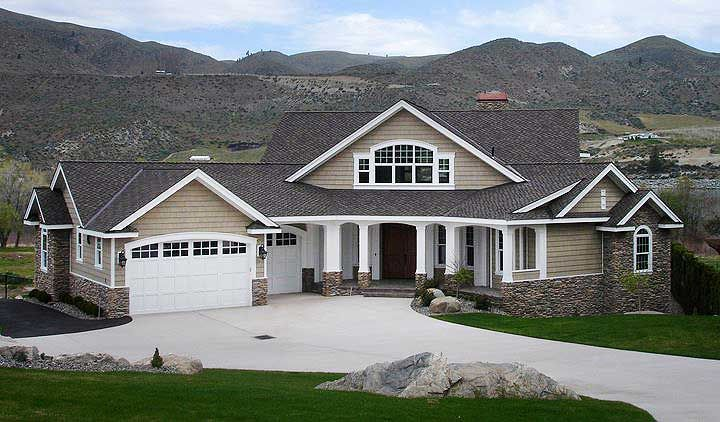 Plan 23252jd Dramatic Craftsman House Plan House
