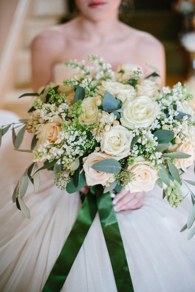 The Kiss Of A Spring Inspiration For An Irish Spring Wedding