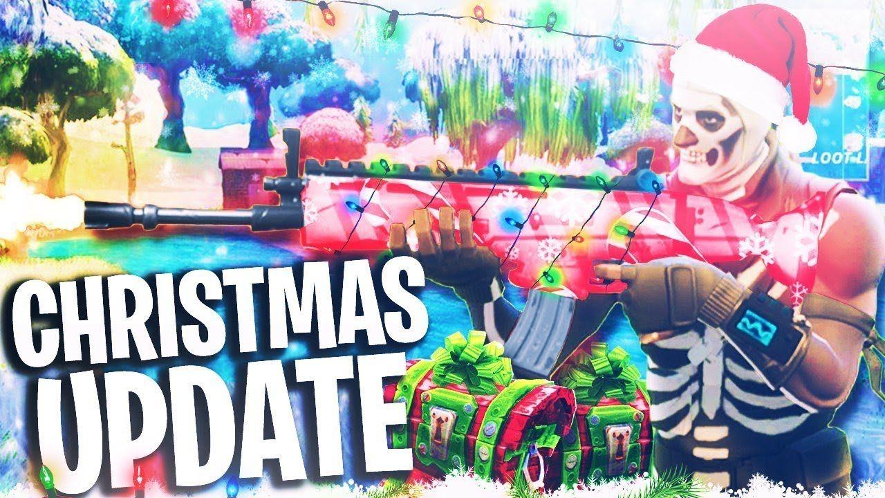 Fortnite Christmas.New Fortnite Christmas Update New Snowball Weapon