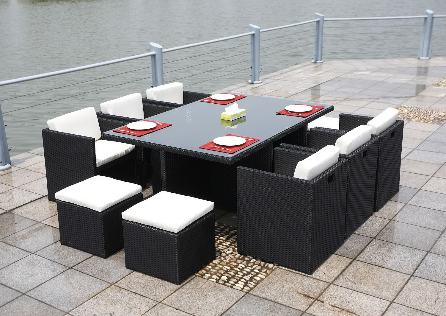 Marbella Rattan Cube Sets Are Welded Units So No Flat Pack Necessary