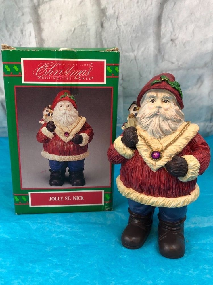 house of lloyd christmas around the world jolly st nick vintage figurine collectibles holiday seasonal christmas modern 1946 90 ebay - Christmas Around The World House Of Lloyd