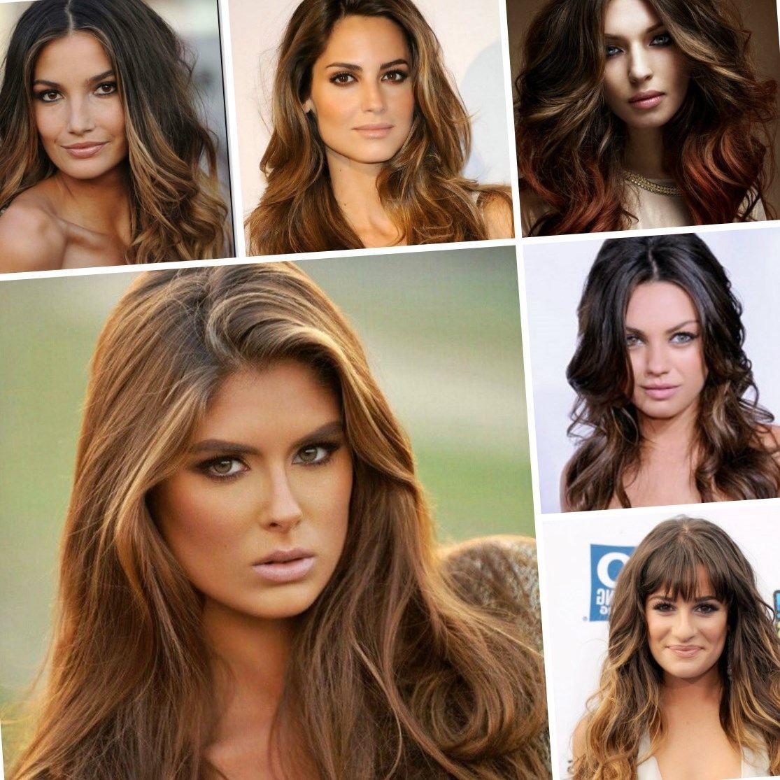 Gallery of Highlights For Dark Brown Hair 2017 Minimalist Design ...