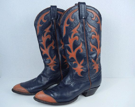 152b04e86d5 Reserved for Jennifer - Vintage Tony Lama Western Boots / Womens ...