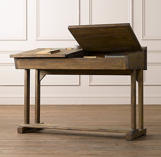 Would Love To Find Real Old School Lift Top Desks For Each