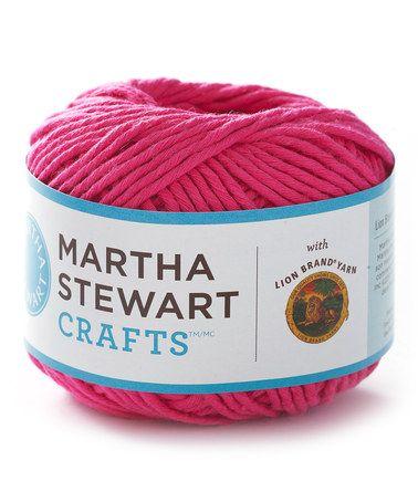 Take a look at this Heather Flower Cotton Hemp Skein - Set of Three by Martha Stewart Crafts on #zulily today!