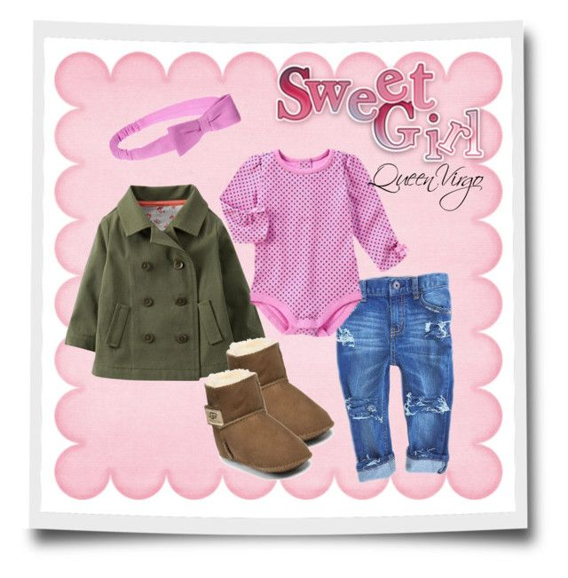 """""""Baby Girl Fever"""" by queenvirgo on Polyvore featuring Carter's and UGG Australia"""