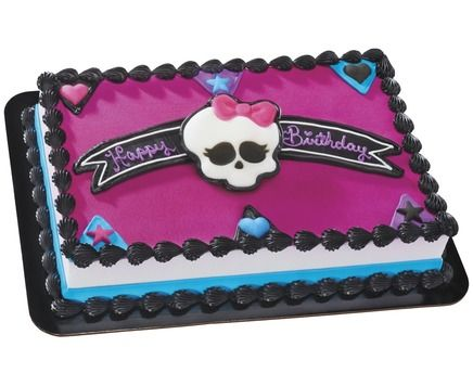 Ingles | Jaycee bday | Monster high cakes, Monster high birthday ...