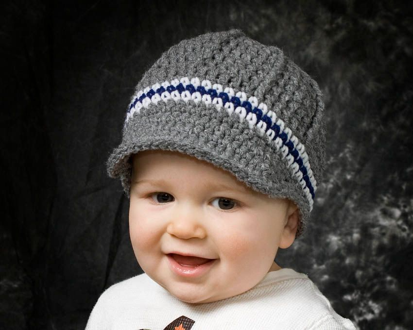 Free Crochet Pattern Toddler Newsboy Cap : Boys crochet newsboy hat, crochet baby boy hat, toddler ...