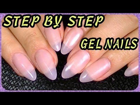 Oval Stiletto Nails How I Do My Gel You