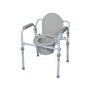 Bedside Toilet Commode Elevated Portable Safety Chair Over Toilet Seat Elderly Bedside Commode Commode Commode Chair