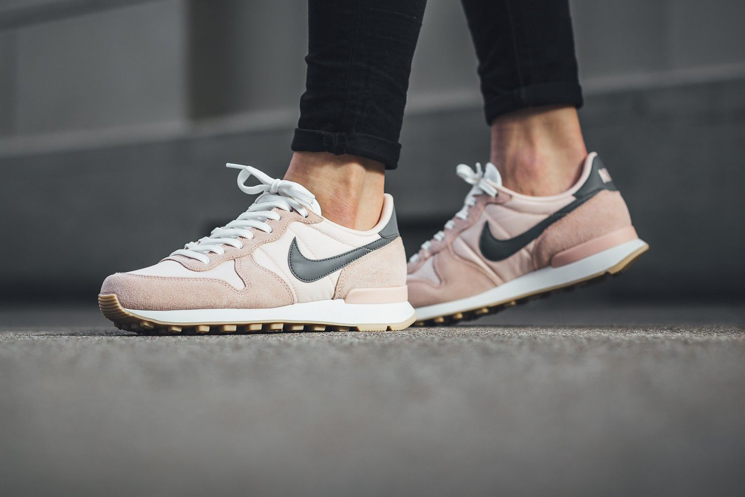 excellent quality good shades of Take a Light Pink Stab on a New Nike Internationalist | Pink ...