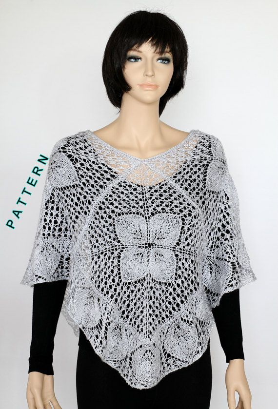 Knit Cape Pattern knitted cape pattern Capelet Pattern Knit Poncho ...