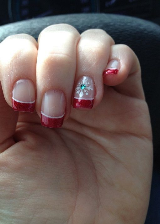 40 Best Christmas Nails Collection 2018 Nails Art 2018 Pinterest