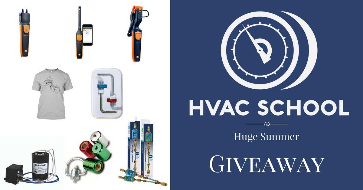 Huge Summer Giveaway Hvac School School Tool Hvac