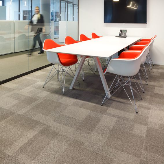 Installation Of Over 3000m2 Of Metro Carpet Tiles Recently
