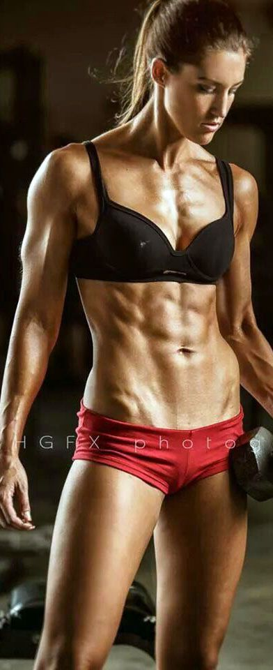 Opinion girl fitness models abs shame!