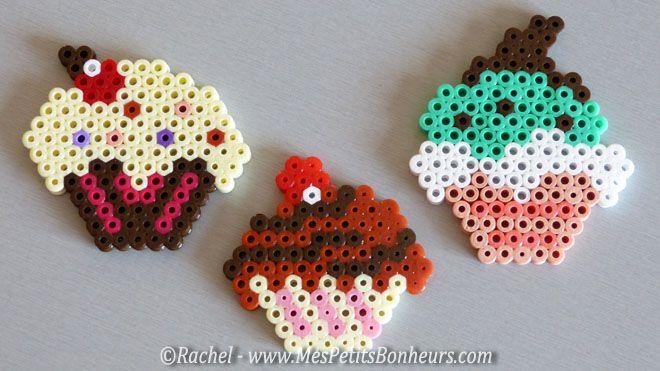 Cupcakes perles a repasser activit s enfants pinterest repasser cupcakes et perles - Perles a coller fer a repasser ...