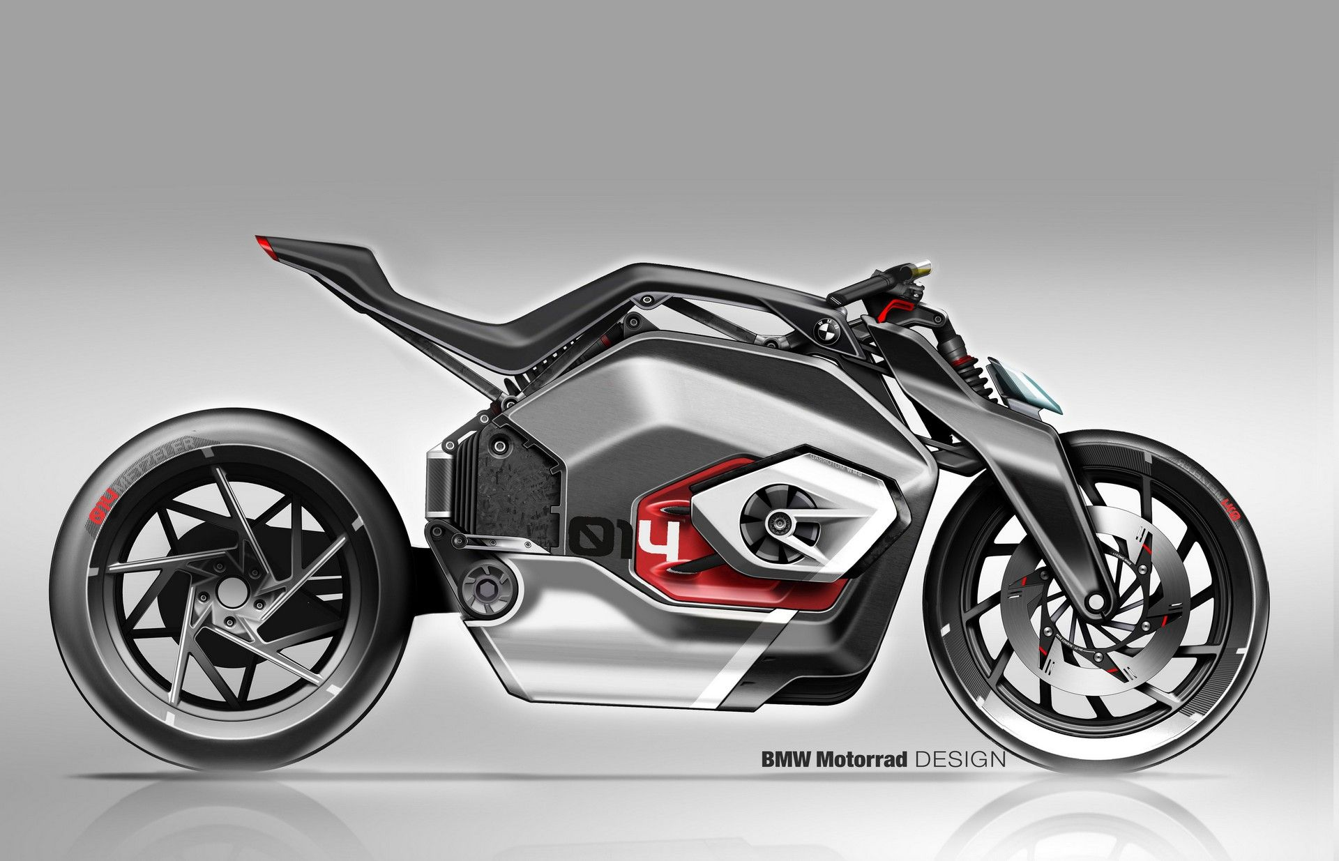 Bmw S Vision Dc Roadster Is A Futuristic Electric Motorcycle Carscoops Motorcycle Design Motorbike Design Bmw Motorrad