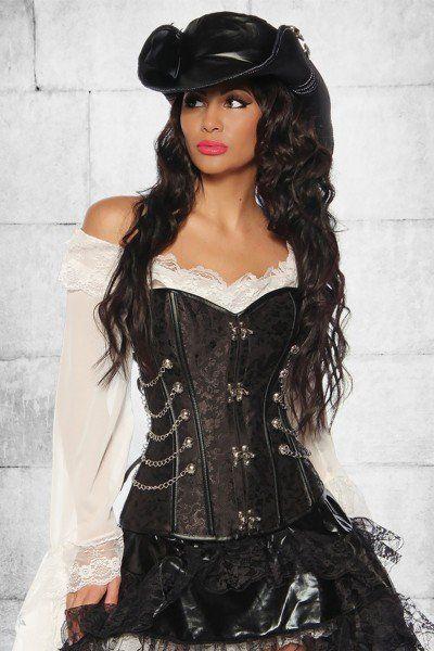 a4653fe6f00e4 Steampunk Corsage   Kostüme   Piratenkostüm, Piraten kostüm und ...