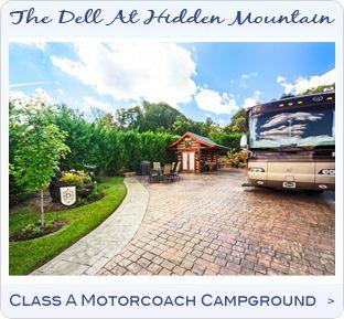 The Dell RV Resort Sevierville, TN | Rv world
