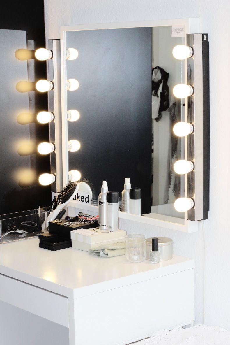 ikea spejl med lys Image result for ikea sminkebord med spejl | home | Pinterest ikea spejl med lys