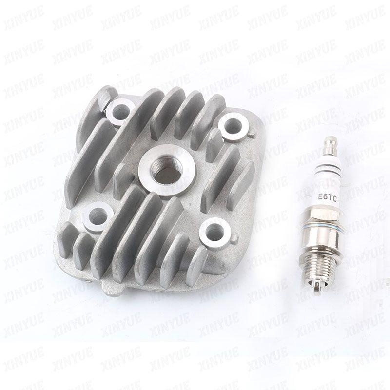 40mm 44mm 47mm 1pe40qmb Cylinder Head E6tc Spark Plugs For Muz Mz Moskito Classico 50 Fb50 Base Rx 50 Sx 50 2t Motorcycle Accessories Cylinder Head Spark Plug
