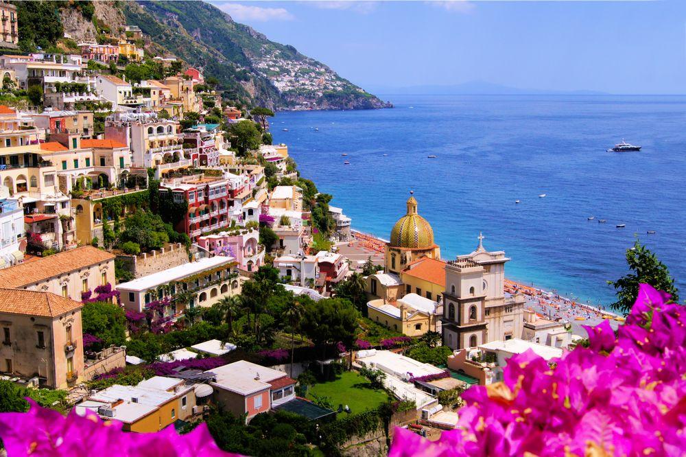 La penisola Sorrentina: Positano, Conbipel, estateitaliana