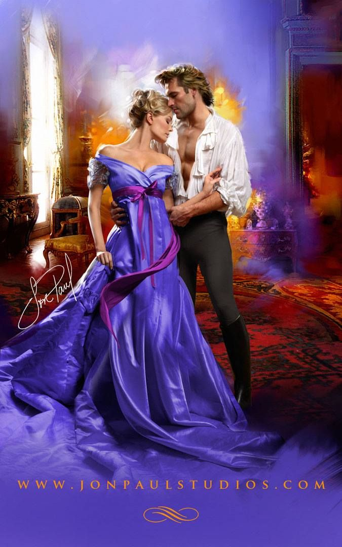 Romance Book Cover Remix : Jon paul studios art purple romance book cover