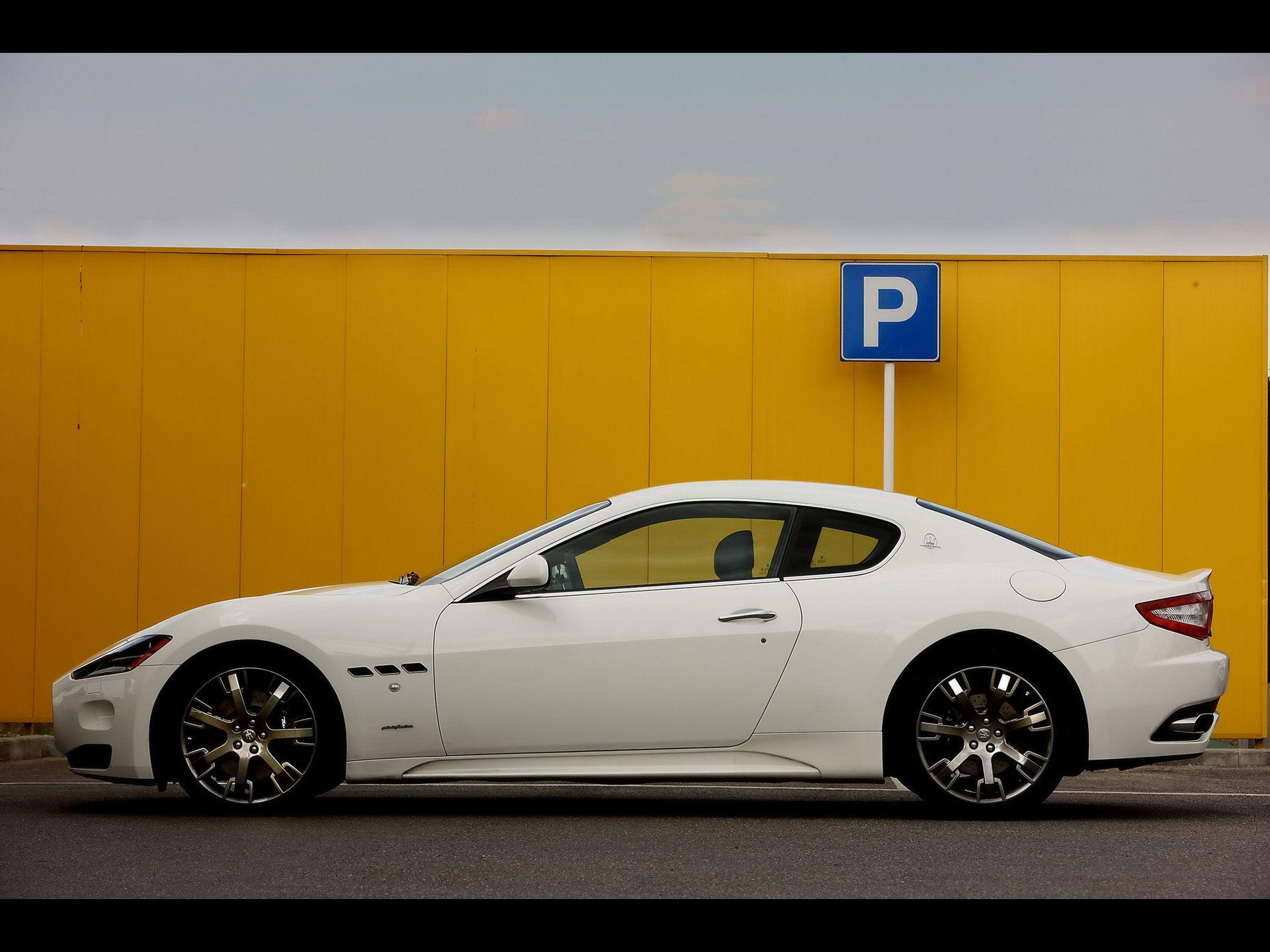 Maserati+GT+side MASERATI TRIDENT Pinterest