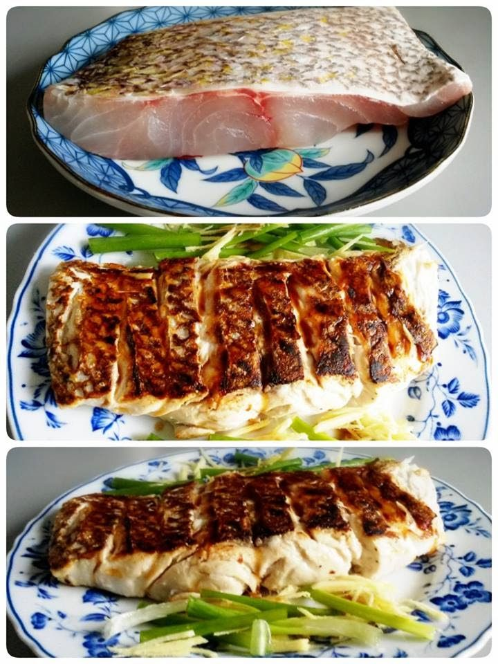 Singapore Home Cooks: Pan Seared Sea Bream (locally known as An Ko