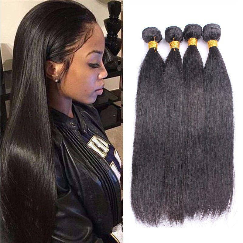 8a Brazilian Virgin Hair Straight 4 Pcs 18 Inches Ever Beauty Hair