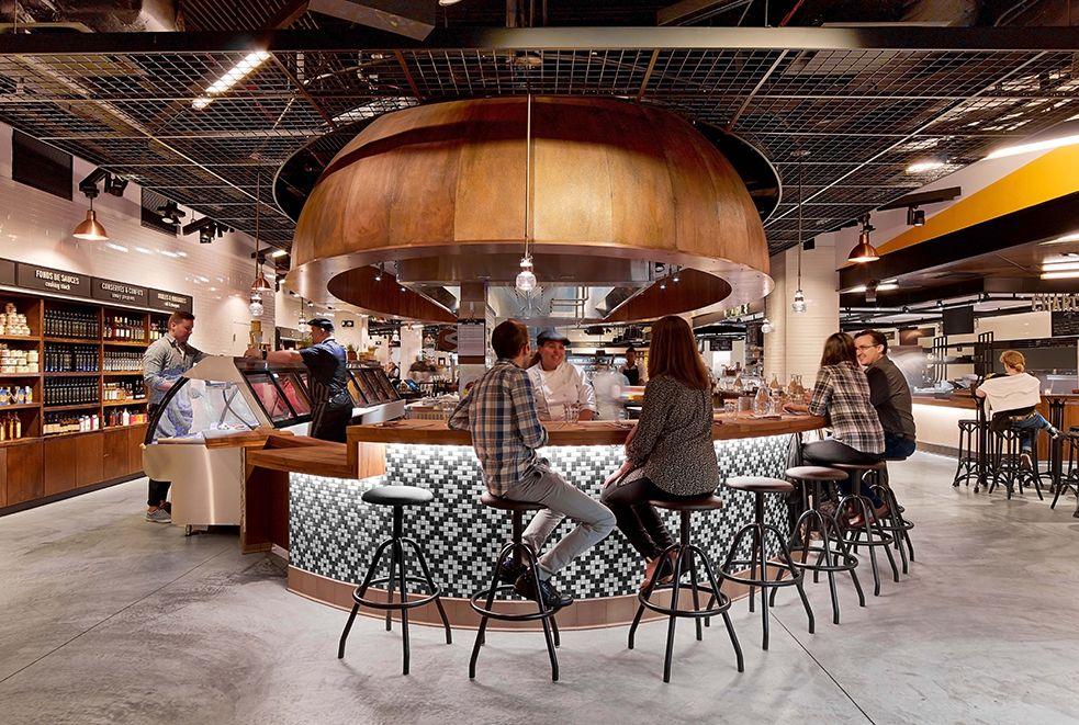 Le District Salon De The Bar Salon Design Cafe