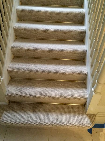 Ordinaire Client: Private Residence In West London Brief: To Supply U0026 Install Grey  Carpet With Brass Stair Rods To The Stairs
