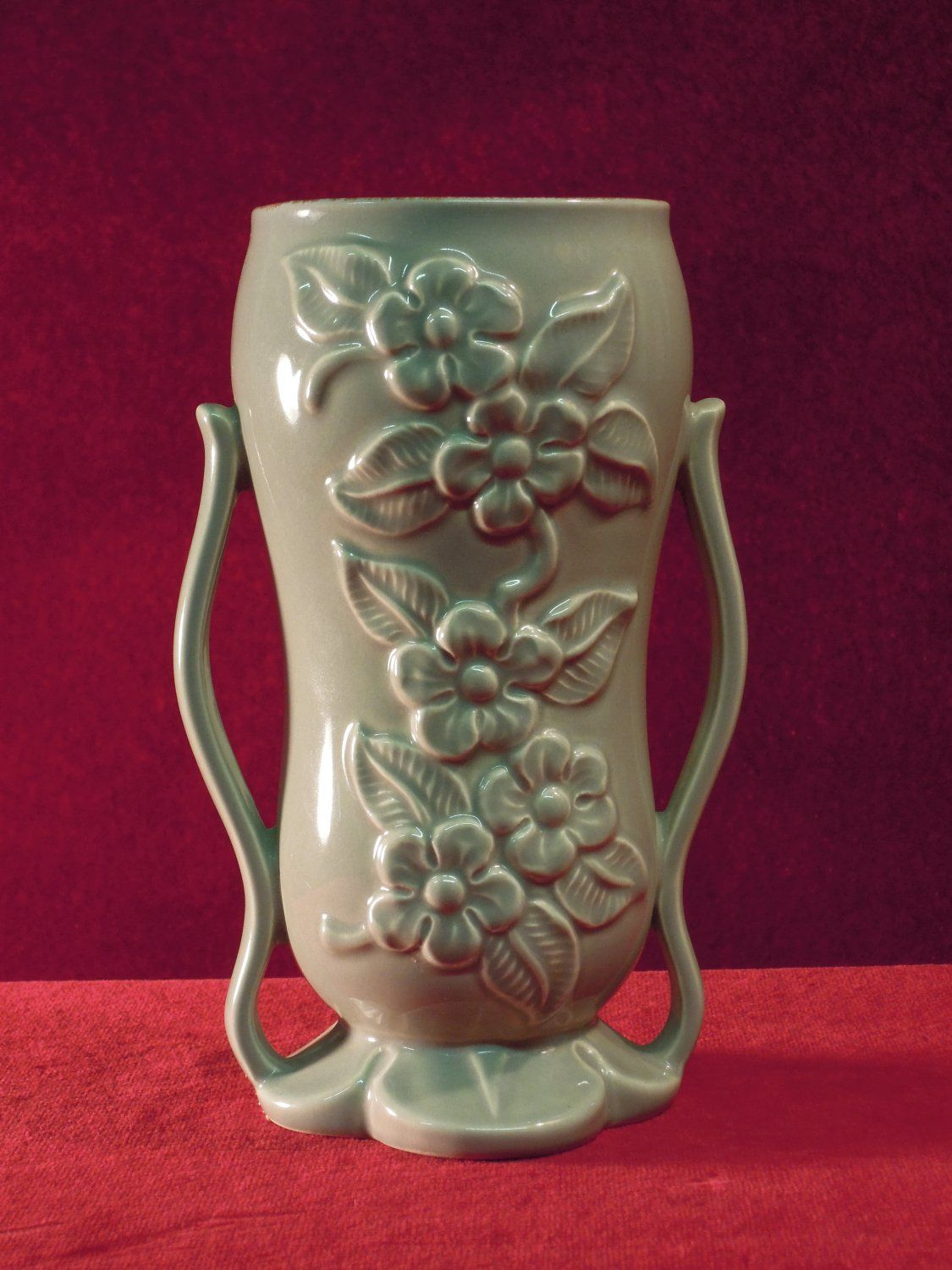 Red wing vase 1949 1360 green red wing pottery pinterest red wing vase 1949 1360 green reviewsmspy