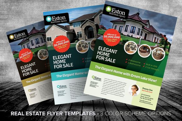 Real Estate Flyer Templates – Real Estate Brochure Template