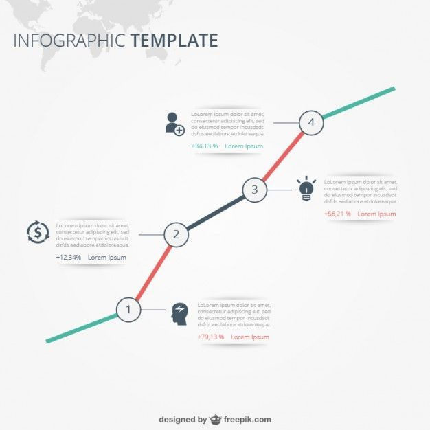 Download Infographic Template With Text for free