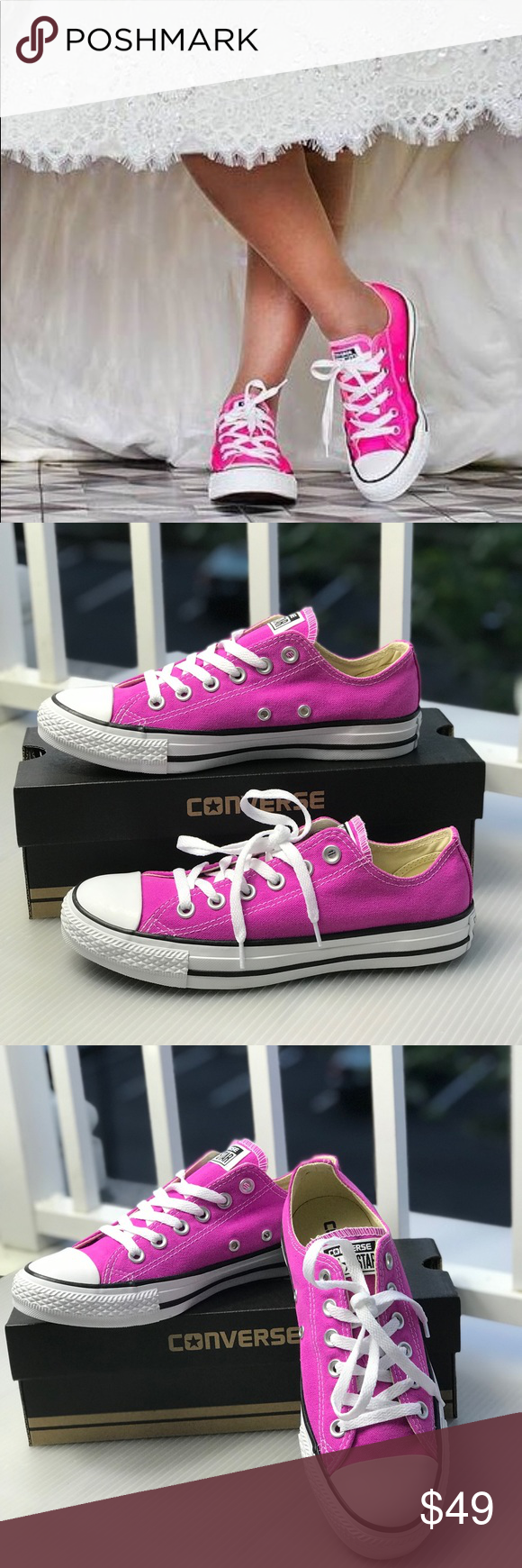 NWT Converse AdVulc AllStar Purple LT W AUTHENTIC Brand new with box. Price  is firm 8f1dd869d