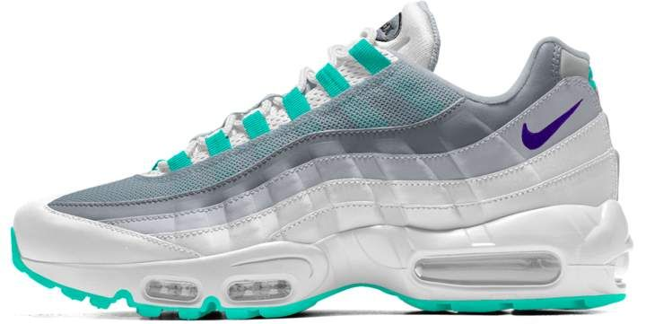 Nike 95 iD Shoe | Products | Shoes, Nike shoes, Nike air max
