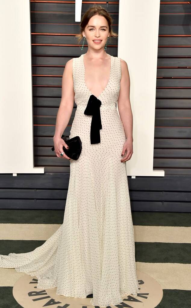 Emilia Clarke from Vanity Fair Oscars Party 2016: What the ...