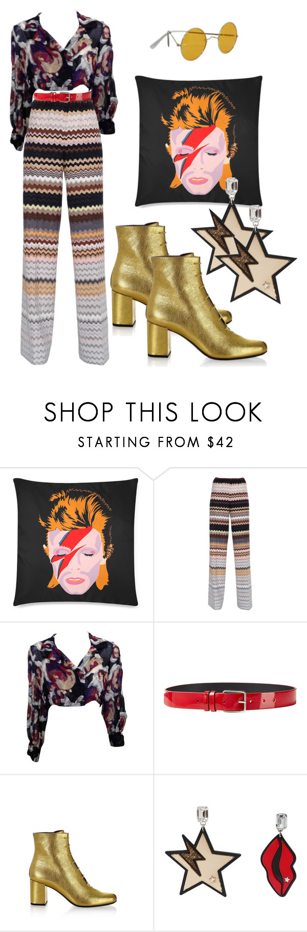 """""""Ziggy Stardust⚡️"""" by remsays ❤ liked on Polyvore featuring Missoni, Chanel, Jil Sander, Yves Saint Laurent and STELLA McCARTNEY"""