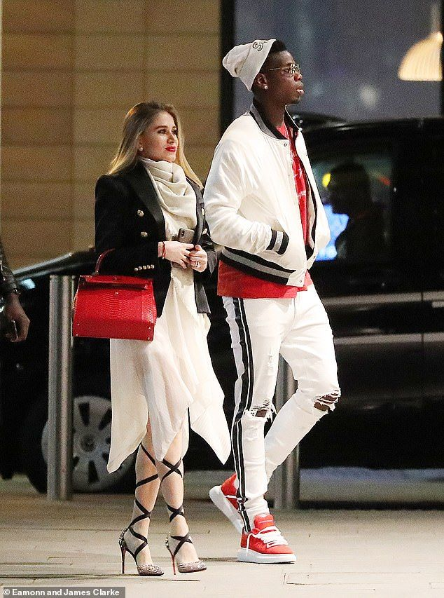 Paul Pogba becomes a dad! United star out with girlfriend