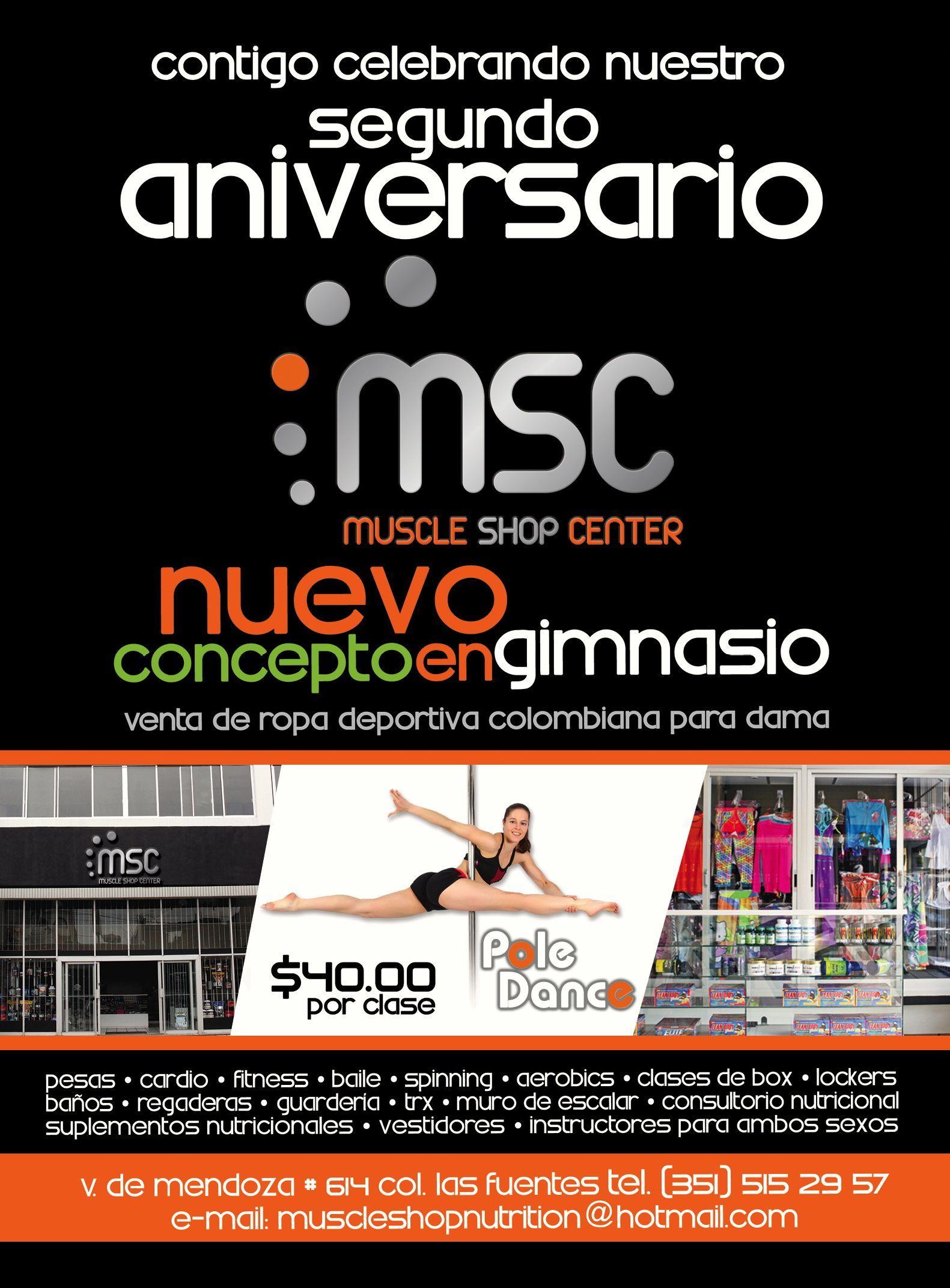 Muscle Shop Center En Zamora Virrey De Mendoza Casi Frente A The  # Nuova Muebles Zamora