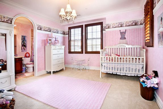 Slaapkamer Inspiratie Roze : Inspiratie voor roze babykamer kids bedrooms pinterest