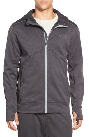 The North Face 'Ampere' Zip Front Fleece Hoodie