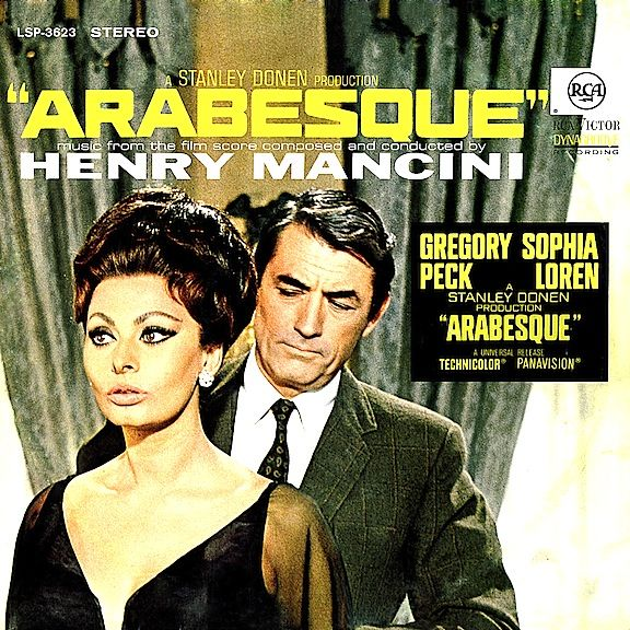 """""""Arabesque"""" (1966, RCA).  Music from the movie soundtrack."""