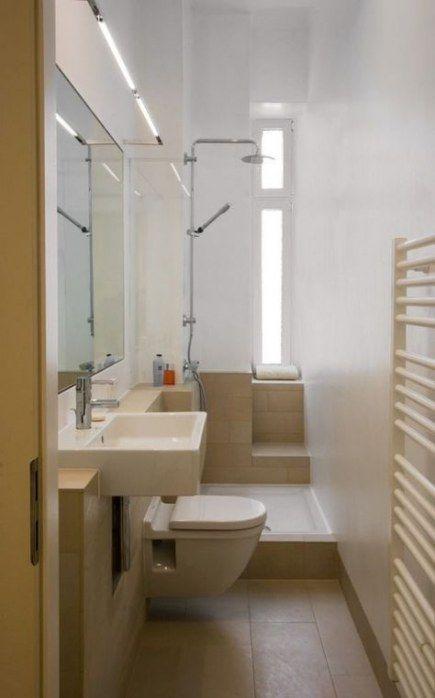 New Bath Room Tiny Narrow Floor Plans 30 Ideas Small Narrow Bathroom Narrow Bathroom Bathroom Interior Design