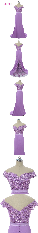 Lavender 2018 Bridesmaid Dresses Cheap Under 50 Mermaid Deep V-neck ...