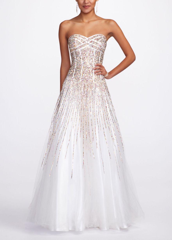 Prom/Sweet 16 David's Bridal Pretty prom dresses, White